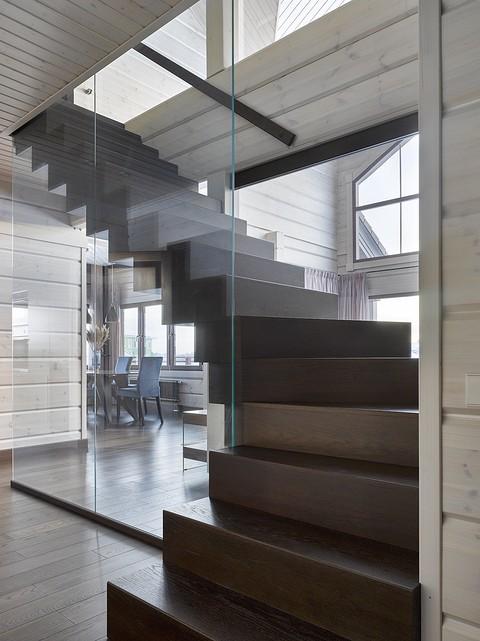 Лестница по архитектурному пр&#...