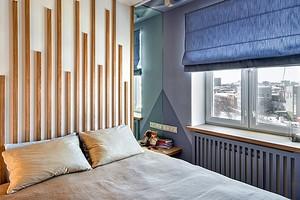 Спальное место в однушке — не проблема: 6 примеров дизайнерских квартир