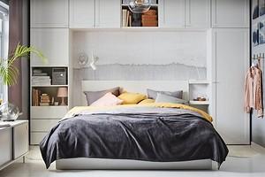 Кровать, системы хранения и декор: оформляем интерьер спальни с помощью ИКЕА