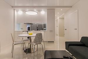 Как снять точечный светильник с натяжного потолка и заменить его новым