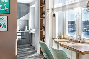 Совмещенная кухня-гостиная в хрущевке: как оформить пространство правильно и красиво
