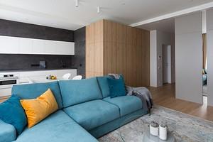 Минималисты оценят: лаконичная квартира, в которой продумано все и нет лишних деталей