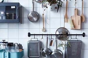 Как правильно расположить и прикрепить рейлинги на кухне