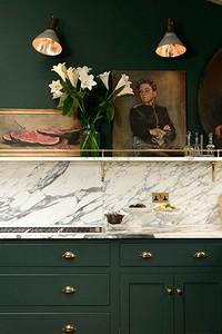 Красивые кухни в зеленом цвете: правила оформления и 73 фото