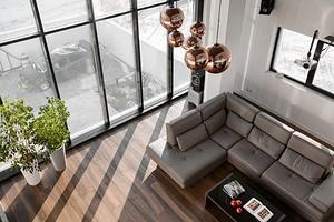 Трехэтажный дом в стиле минимализм: интерьер, который переносит в будущее
