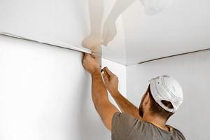 4 момента, которые важно проконтролировать при монтаже натяжного потолка