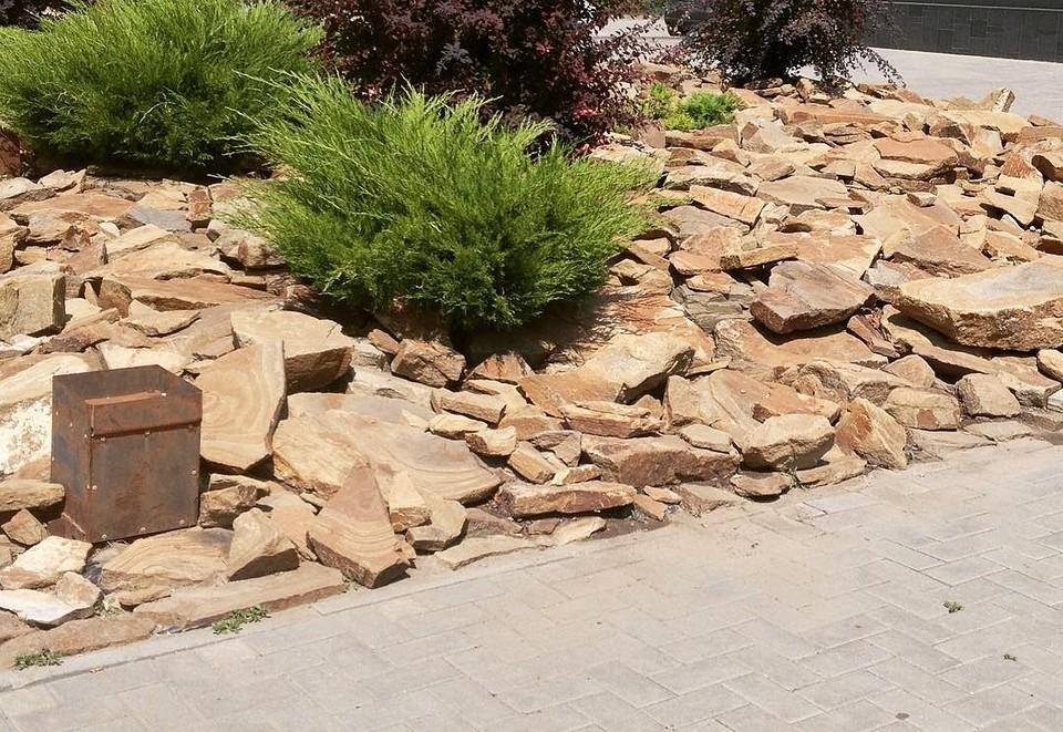 Бутовый камень долговечен, экологичен и обладает высокими декоративными свойствами