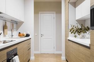 Оформляем совмещенное пространство кухни и прихожей: правила дизайна и зонирования