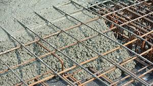 Бетонной смесью армированная бетон химические реакции