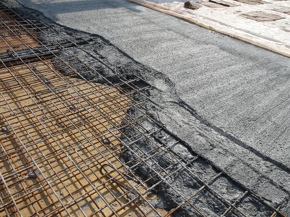 Бетонной смесью армированная заказать бетон в миксере в перми