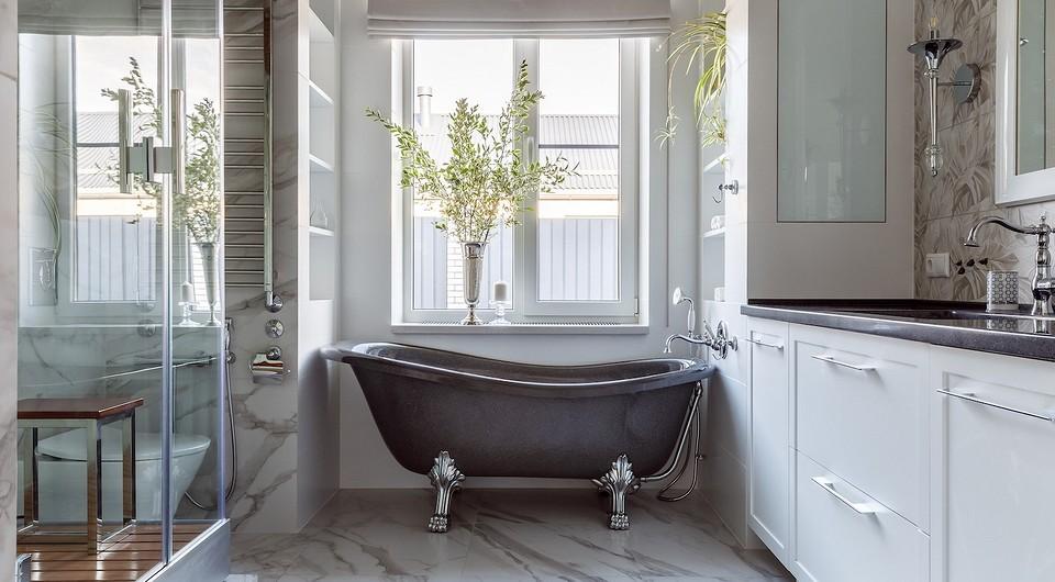 Дизайн ванной комнаты с душевой и ванной: идеи интерьера на 89 фото — IVD.ru