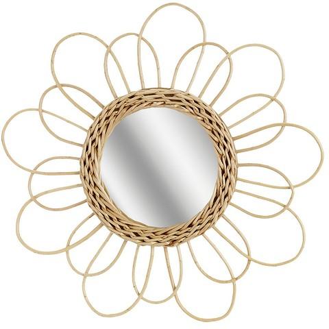 Зеркалов раме из ротанга — не т...