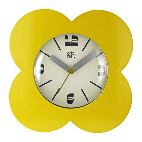 Настенные часы Poppy в виде цветка в...
