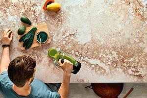 Как выбрать кухонную столешницу из кварцевого агломерата и сэкономить