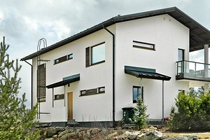 Быстровозводимый дом: обзор технологии строительства изкрупноформатных панелей