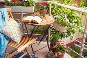 Если у вас нет дачи: как оформить цветник на балконе своими руками