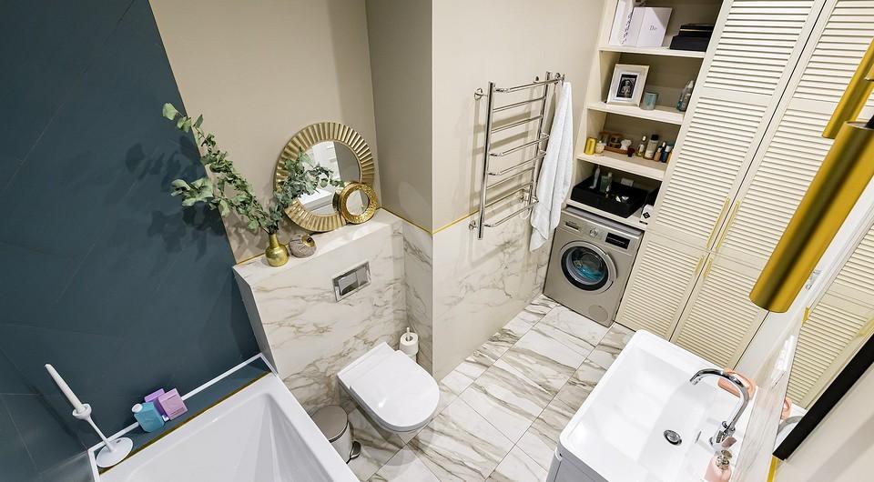 В ванной комнате при спальне хр...