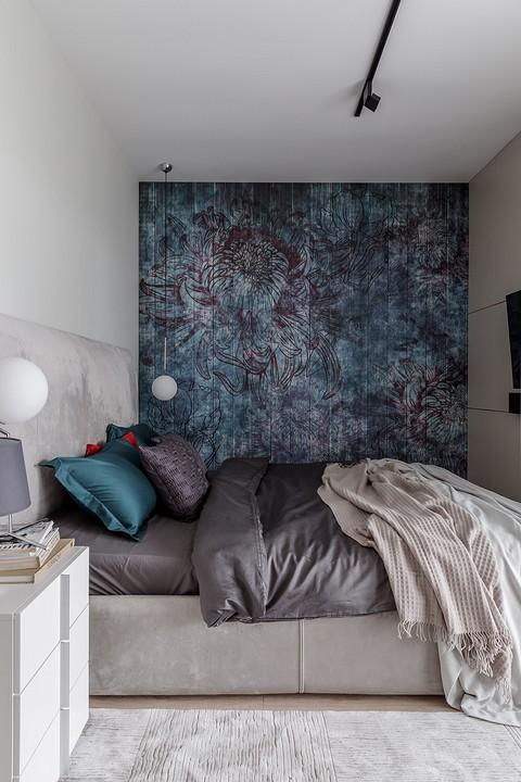 В спальне насыщенные цвета нас&...