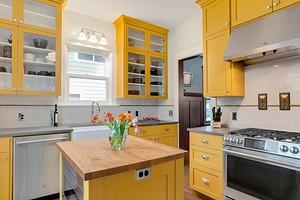 Оформляем интерьер желтой кухни: лучшие цветовые сочетания и 84 фото
