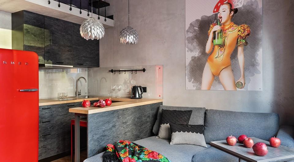Двухуровневая маленькая студия площадью 31 кв. м для сдачи в аренду