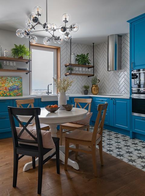 Керамическая раковина на кухн&#...