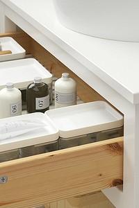 7 идей для идеальной организации тумбы под раковиной в ванной