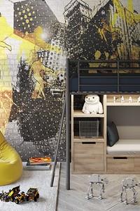 Оформляем детскую комнату в стиле лофт с учётом возраста ребёнка