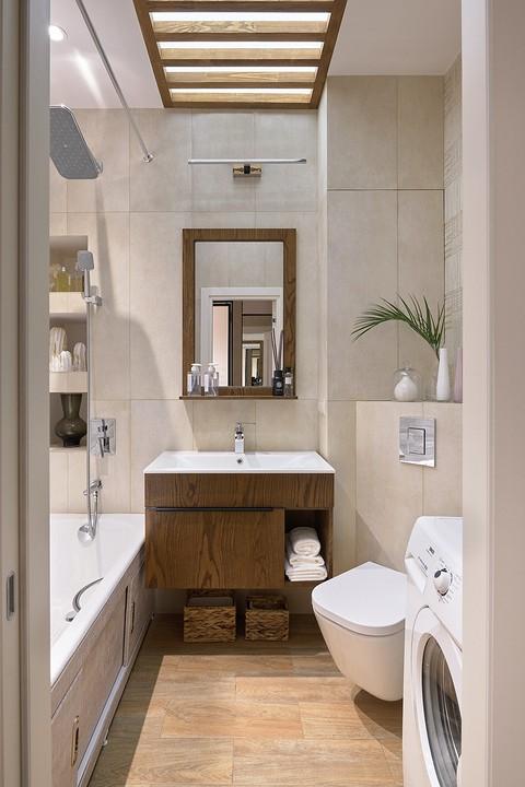 В ванной комнате создали «эффе&...