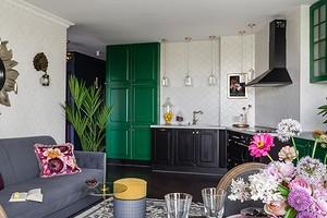 Смелый фьюжн: интерьер квартиры в Самаре