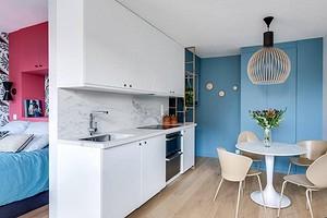 Дизайн квартиры-студии 20 кв. м: стильные и практичные решения на примере 7 проектов