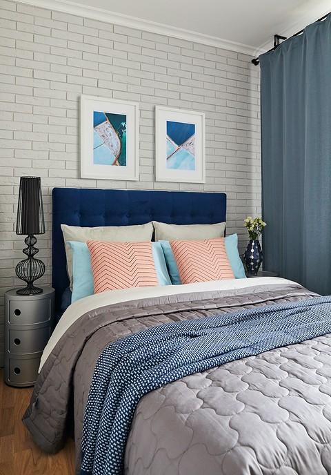 Спальня, так же, как и кухня-гост&#10.