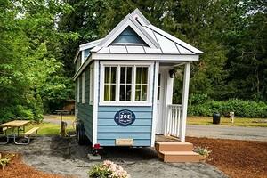 4 удивительных маленьких дома площадью 10 кв. м или чуть больше, в которых есть все