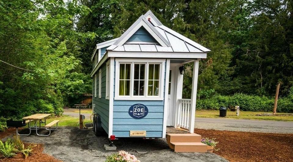 4 удивительных маленьких домов площадью 10 кв. м или чуть больше, в которых есть все