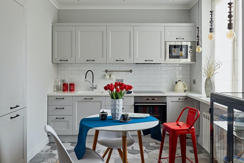 Как в однушке выделили гостиную и спальню: интерьер маленькой квартиры площадью 40 кв. м
