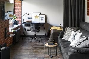 Как выжать максимум из квартиры-студии площадью 28 кв. м: 6 примеров и советы по дизайну