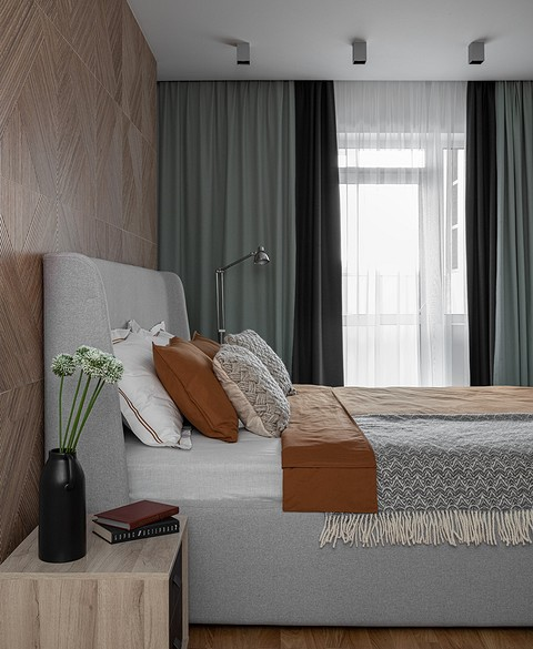 В спальне керамогранитом под д&...