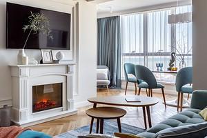 Уютная современная классика: квартира в Сочи с видом на море
