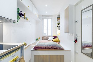 Как жить на 10 кв. м: 4 классные квартиры, в которых это реально