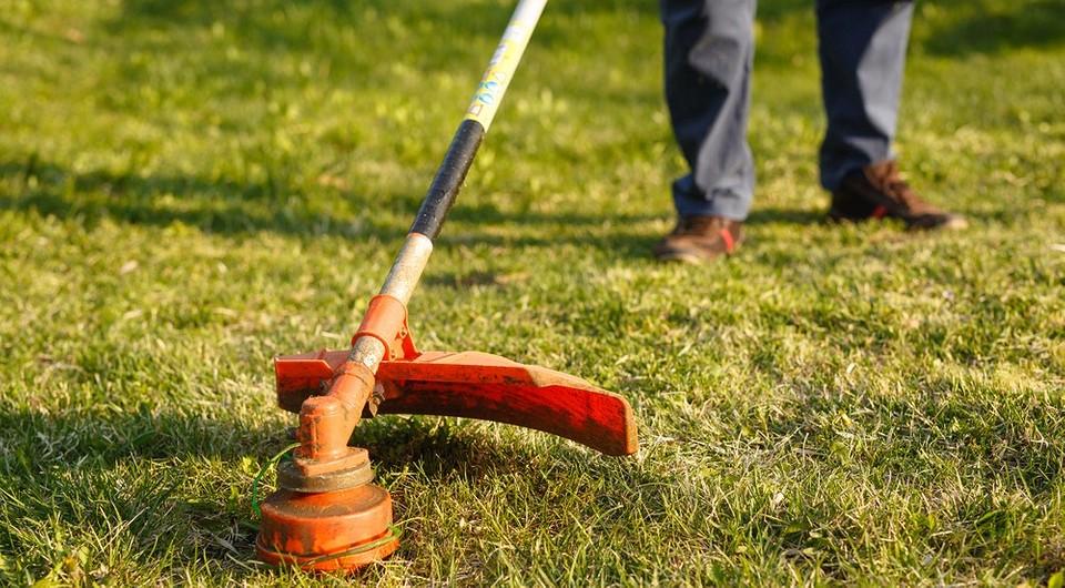 самый мощный электрический триммер для травы