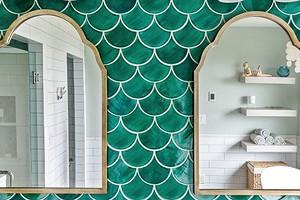 Дизайн зеленой ванной комнаты: используем цвет, как профессионалы