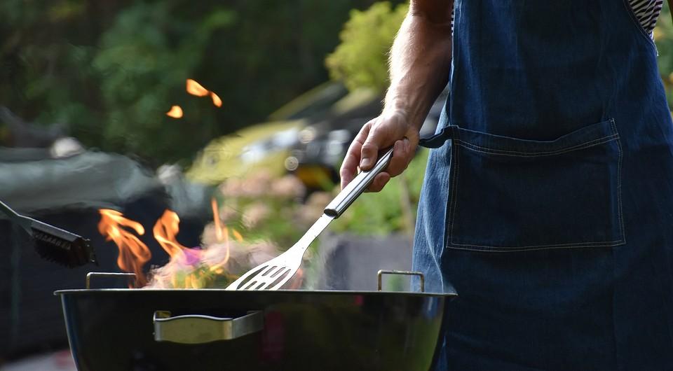 Как быстро отмыть мангал, барбекю и посуду после пикника