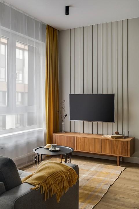 Телевизионная зона в гостиной &...