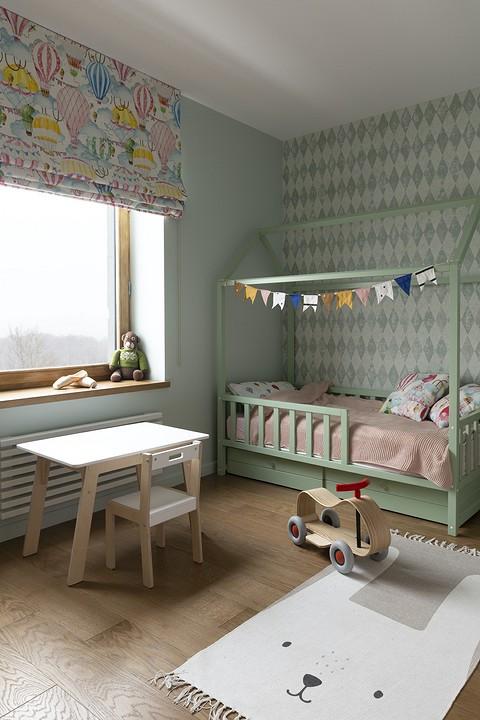 Детская комната получилось св&#...