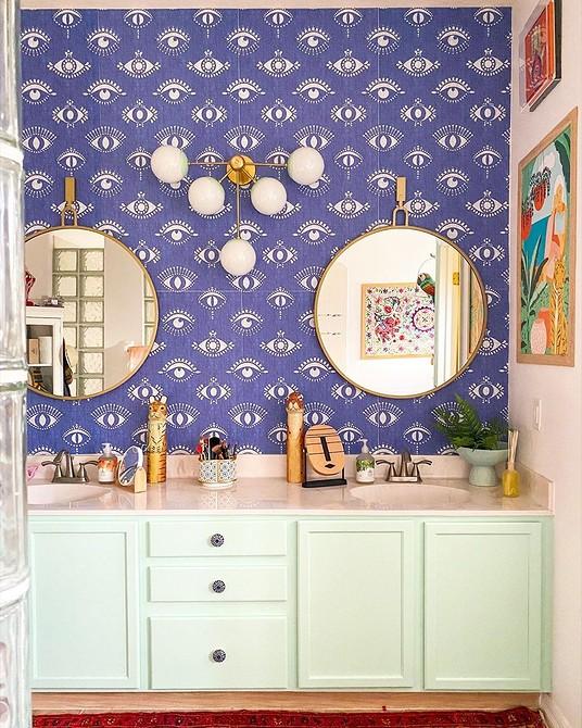 Дизайн фиолетовой ванной комнаты: реальные фото примеры и идеи оформления