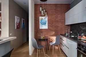 Возможен ли лофт в маленькой квартире? Пример студии площадью 38 кв. м