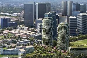 Небоскребы с ботаническим садом: проект, который планируют построить в Лос-Анджелесе