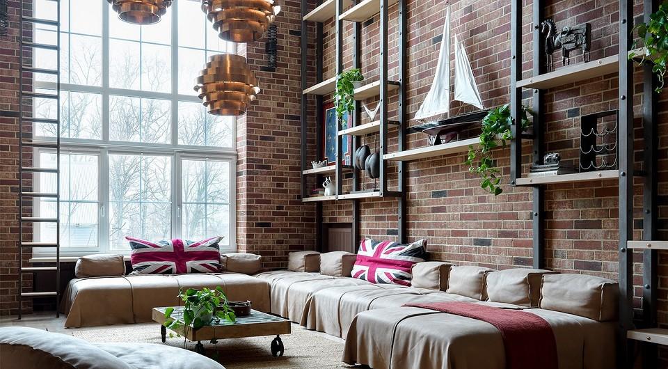 Как оформить загородный дом в стиле лофт: советы и 3 реальных примера от дизайнеров