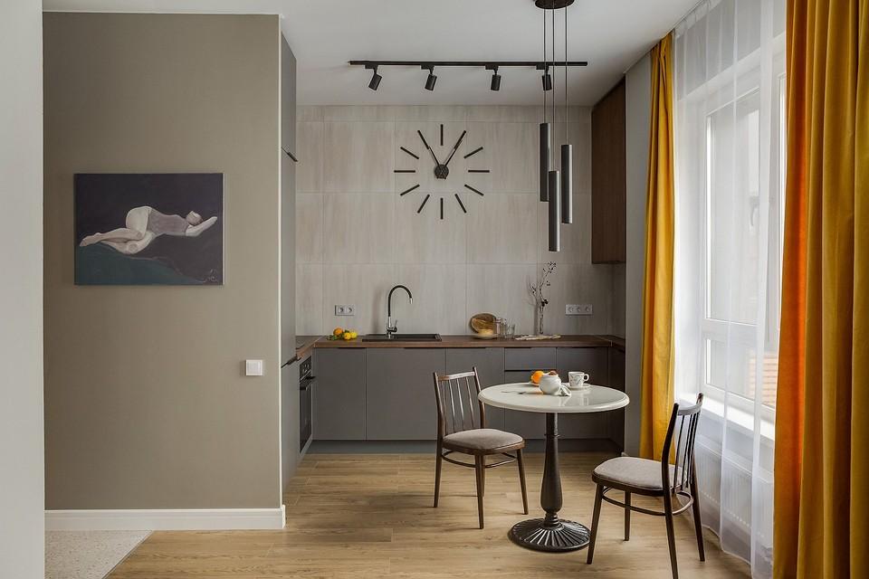 Функциональная и стильная однушка площадью 38 кв.м для сдачи в аренду