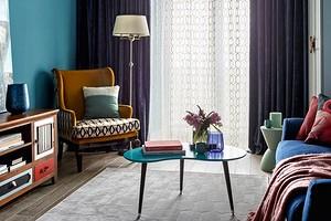 Когда не боятся цвета: 5 ярких и смелых квартир