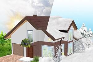 Зачем утеплять стены и крышу? Показали на примере интерактивного дома